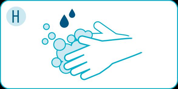 Corona: Hygiene-Regeln einhalten